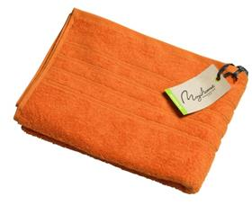 Badlakan 90x150 med brodyr ORANGE